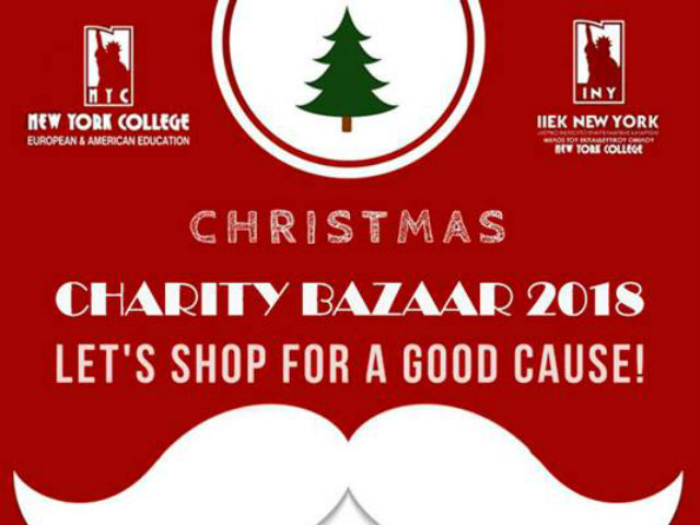 Ξεκινάει το Christmas Charity Bazaar του New York College