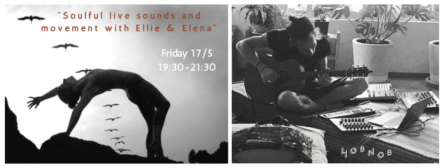 Soulful live sounds and movement with Ellie & Elena στο Hobnob